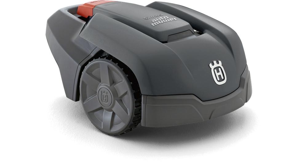 automower 305 in grau die ersten bilder. Black Bedroom Furniture Sets. Home Design Ideas