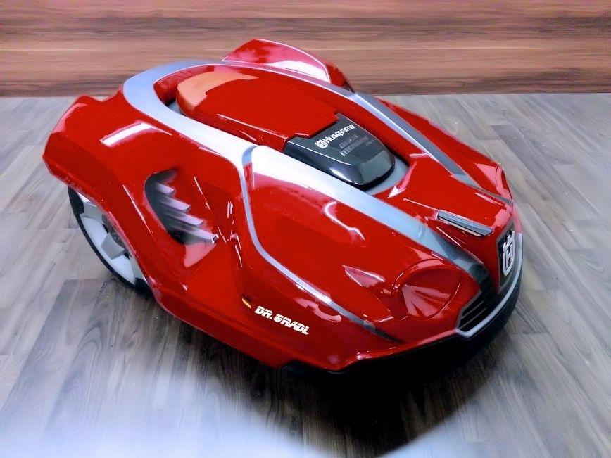 Automower-Ferrari-rot