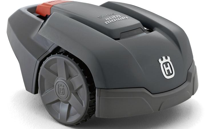 husqvarna automower 308 der neue gro e bruder zum. Black Bedroom Furniture Sets. Home Design Ideas