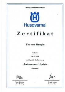 automower schulung 2013