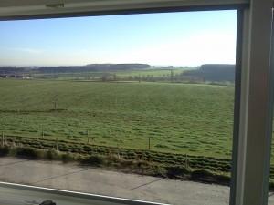Blick aus Bürofenster